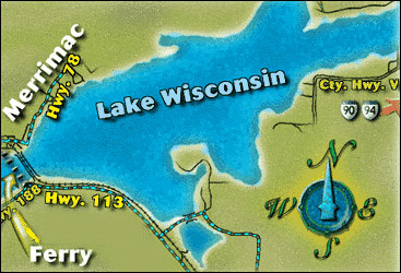 Lake Wisconsin Map